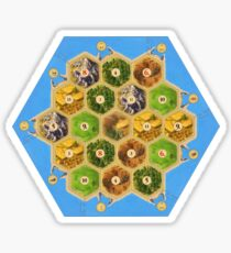 Settlers of catan Sticker