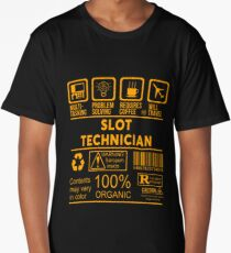 SLOT TECHNICIAN - NICE DESIGN 2017 Long T-Shirt