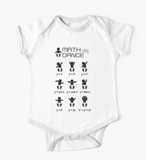 Math dance baby edition One Piece - Short Sleeve