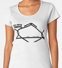 One-way Traffic Women's Premium T-Shirt