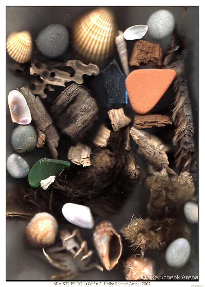 Sea stuff to love n.2 by Heike Schenk Arena