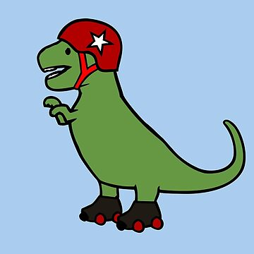 Roller Derby T-Rex by jezkemp