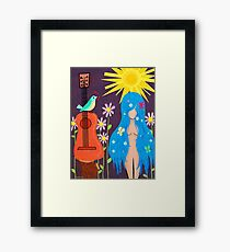 Music Makes Love and Love Makes Music Framed Print