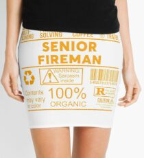 SENIOR FIREMAN - NICE DESIGN 2017 Mini Skirt