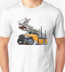 Cartoon Platform Lift Truck Unisex T-Shirt