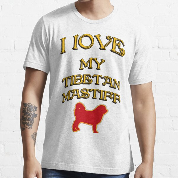 I Love my dog. Dog breed name and dog silhouette Essential T-Shirt