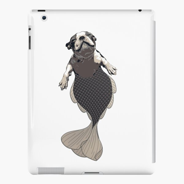 Blithe the Boston Terrier Merpup iPad Snap Case