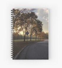 Suburban Sunrise Spiral Notebook
