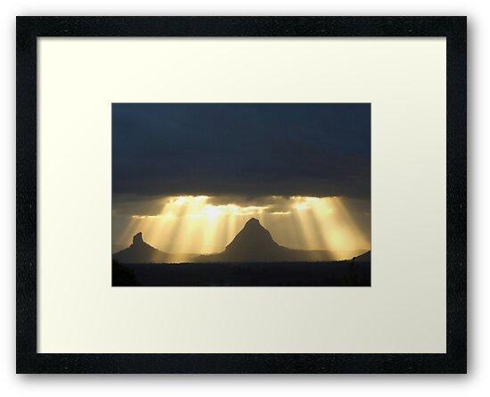 Golden Shafts by GailD