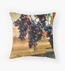 A Stunning Vineyard in Italy Throw Pillow