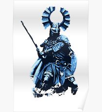 Teutonic Medieval Knight Poster