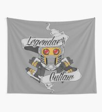 Legendary Outlaw Wall Tapestry