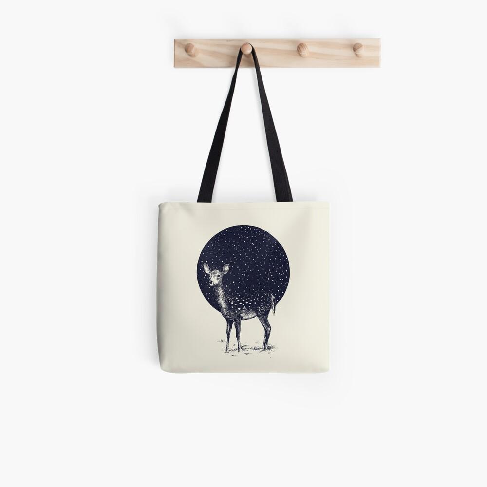 Schneeflocken Stofftasche