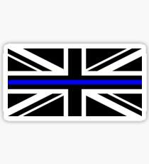 Union Jack Thin Blue Line Sticker