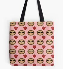 Sloths and Strawberries Tote Bag