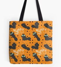 Spooky the Cat Tote Bag