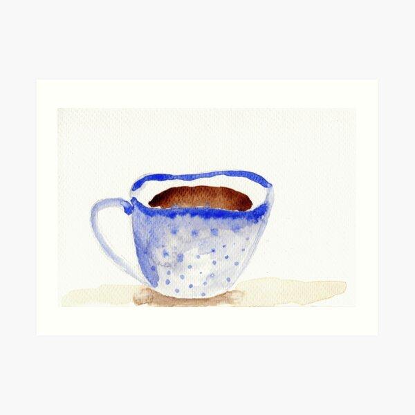 A delicious hot beverage?  Art Print