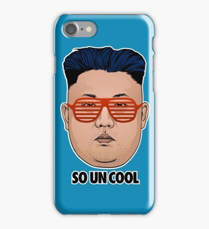 So Kim Jong Un Cool iPhone Case/Skin