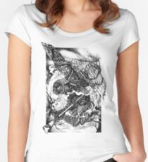 The Night Painter Women's Fitted Scoop T-Shirt