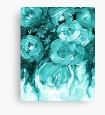 Emerald Rose Painting 170601 Canvas Print