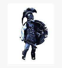 Spartan Warrior  Photographic Print