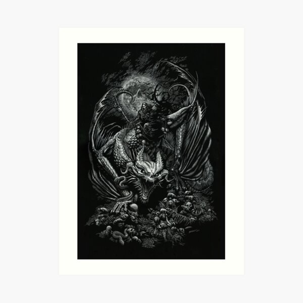 Death Dragon Art Print