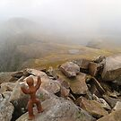 Clay People- across Sgurr Ruadh by Vicky Stonebridge