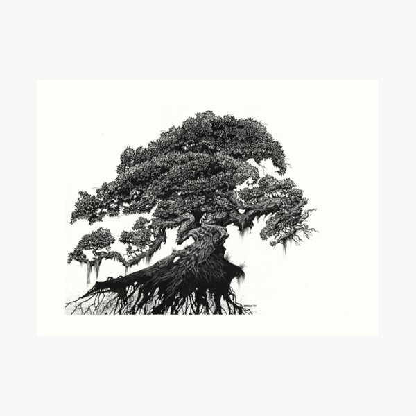 Dragon Tree Art Print