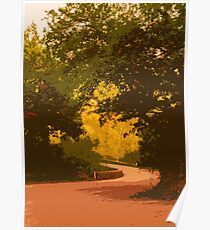 A Winding Road Poster