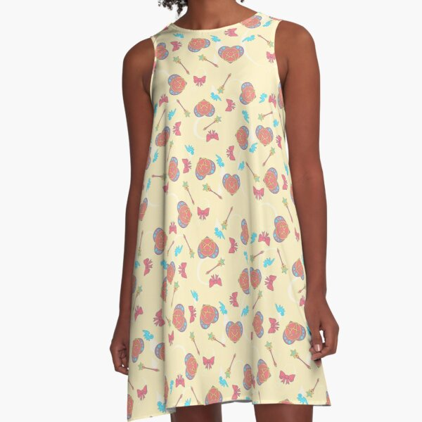 Magical Girl Toss A-Line Dress