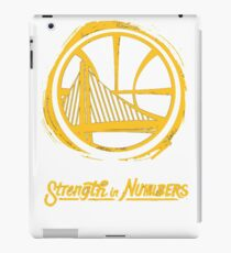Strenght in numbers iPad Case/Skin