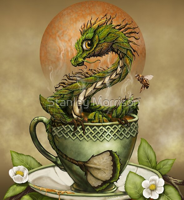 Tea Dragon by Stanley Morrison