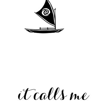 THE SEA, it calls me by Last Petal Tees by lastpetaltees