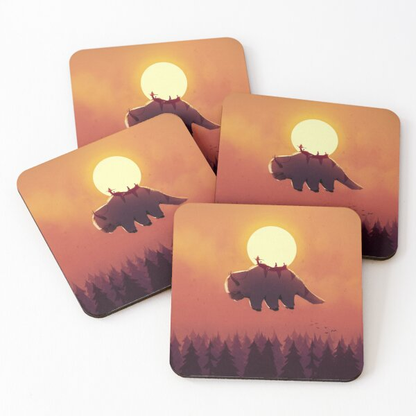 The End of All Things Coasters (Set of 4)