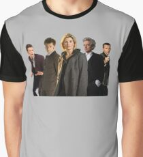 Doctor Who The 13th Doctor (including other modern Doctors) Graphic T-Shirt