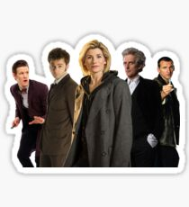 Doctor Who The 13th Doctor (including other modern Doctors) Sticker
