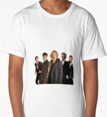 Doctor Who The 13th Doctor (including other modern Doctors) Long T-Shirt