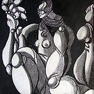female figure by Ronan Crowley