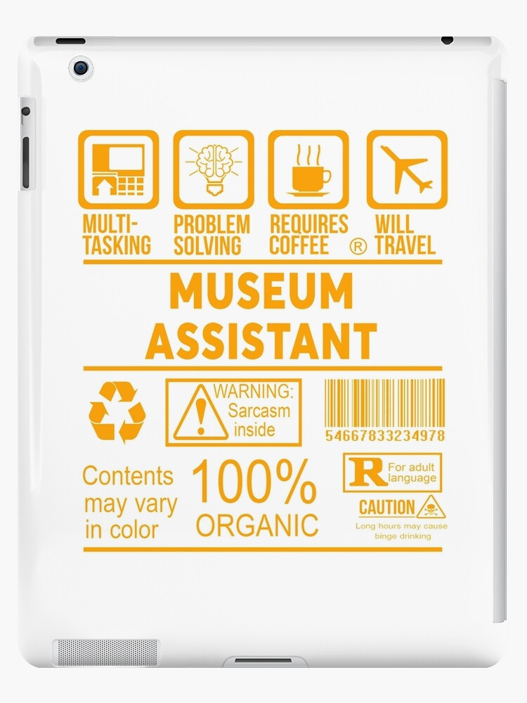 MUSEUM ASSISTANT - NICE DESIGN 2017 by thomastar