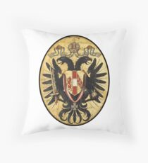 Austria Imperial Eagle Throw Pillow