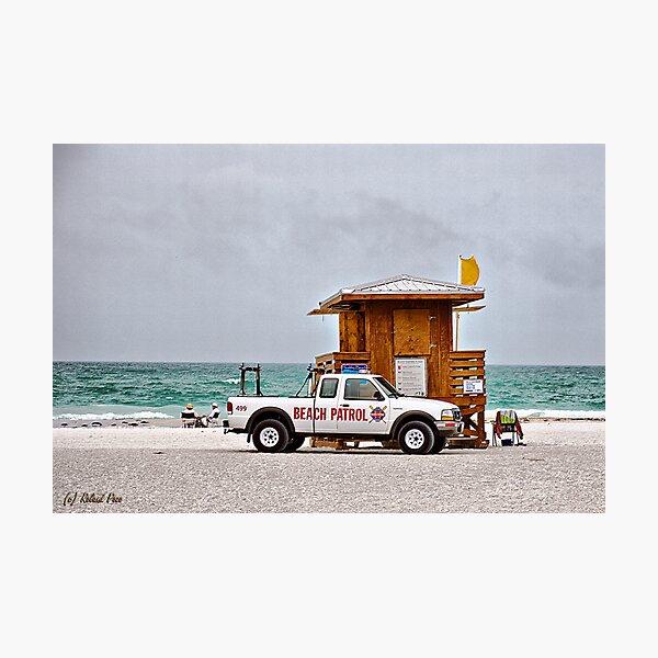 Beach Patrol Photographic Print