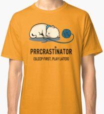Prrcrastinator Classic T-Shirt