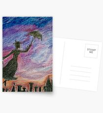 Mary Poppins Postcards