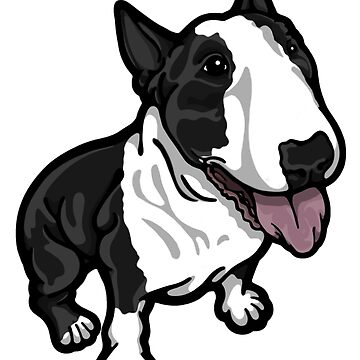 Happy Black and White Bully by Sookiesooker