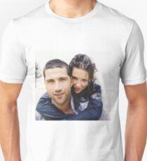 Mathhew Fox and Evangeline Lilly T-Shirt