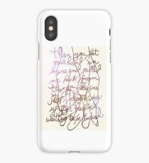 Bastille glory iPhone Case