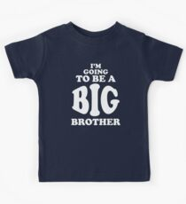 I'm Going To Be a Big Brother Shirt Kids Tee