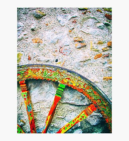 Sicilian Wheel Photographic Print