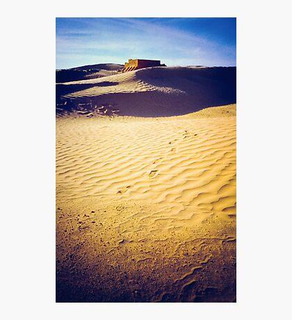 Fort in the Sahara desert Photographic Print