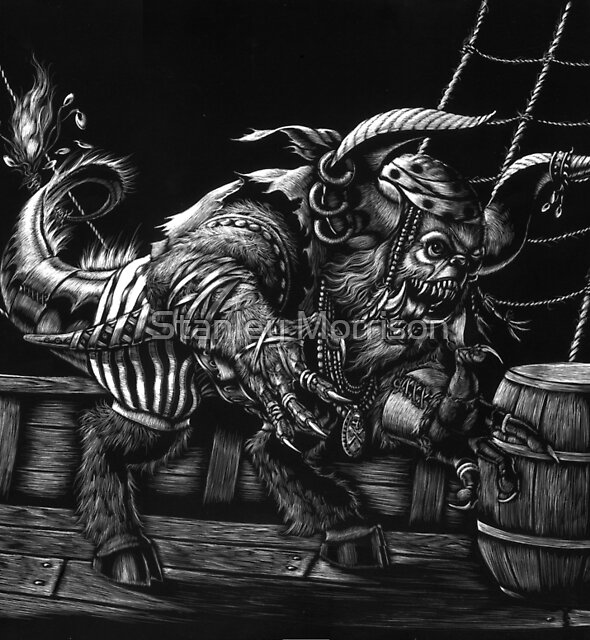Pirate Beast by Stanley Morrison